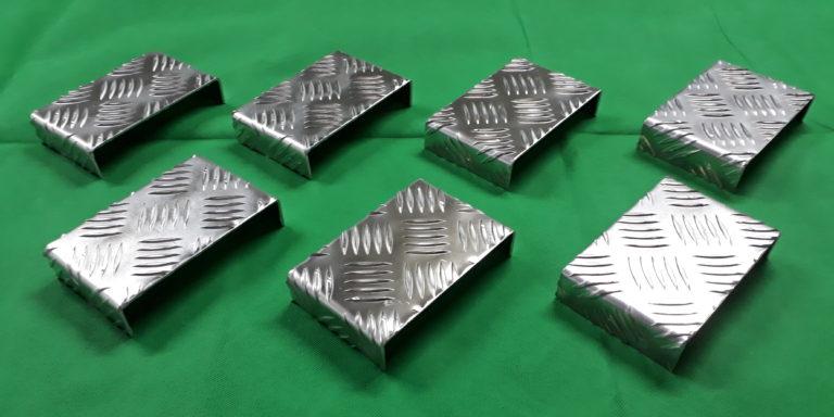 Traanplaat op maat gemaakt van aluminium
