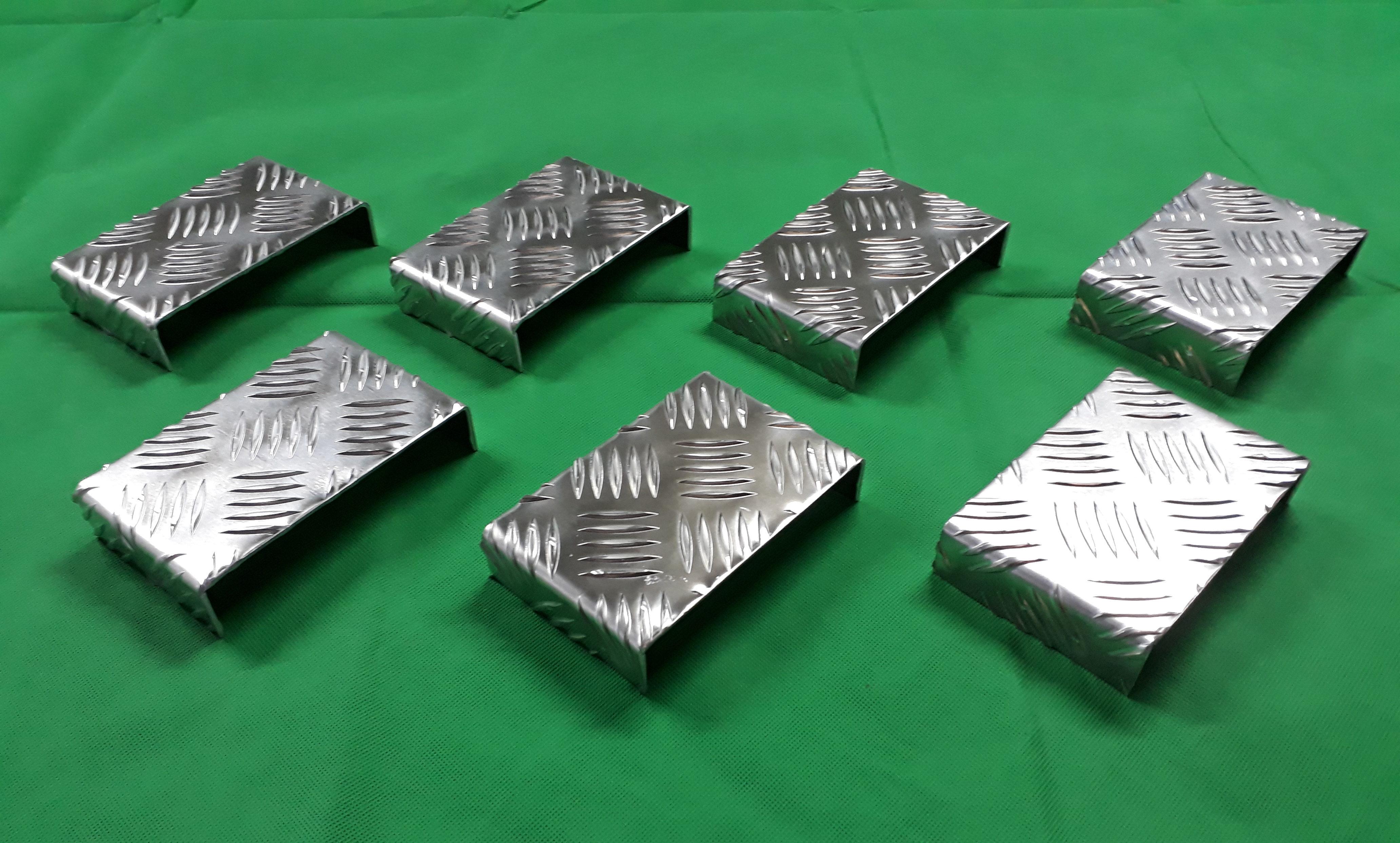 Aluminium profiel u profiel traanplaat
