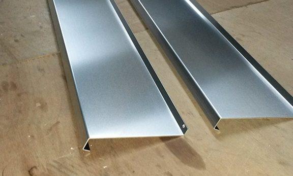 Aluminium profiel lekdorpel
